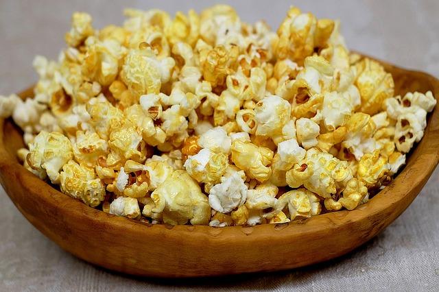 sweet popcorn bowl