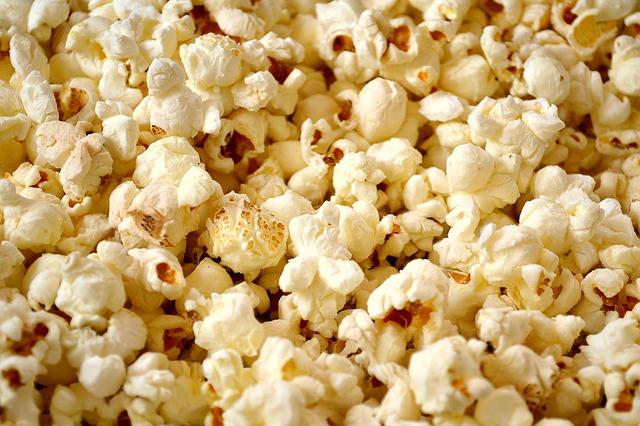 bunch of popcorn